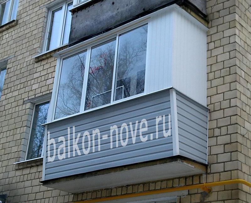 остекление балконов хрущевок фото