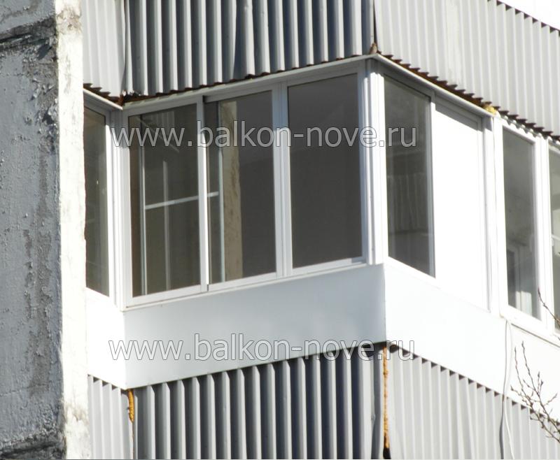 Недорогое остекление балконов хрущёвке цена в москве и м.о..